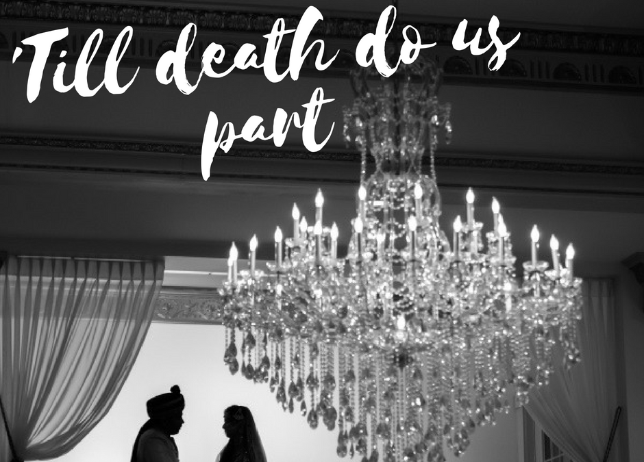 'Till death do us part: Wedding Vows from Romantic literary passages